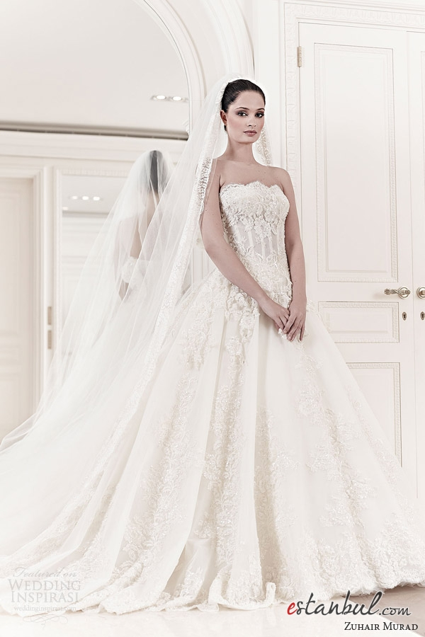 Zuhair murad 2014 gelinlik modelleri for Zuhair murad 2014 wedding dresses